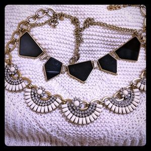 2 Statement Fashion Necklaces J Crew and Express